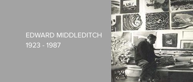 Artist - Edward Middleditch - Biography