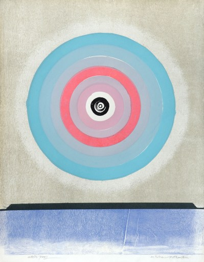 Michael-Rothenstein---Circle-(Blue-to-Dark-and-Light-Pink)