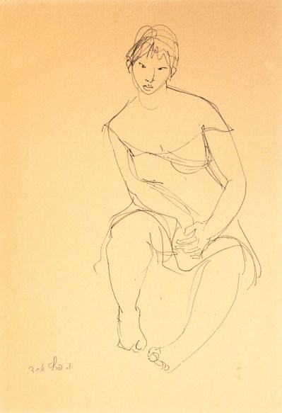 esther-peretz-arad-Woman-Seated