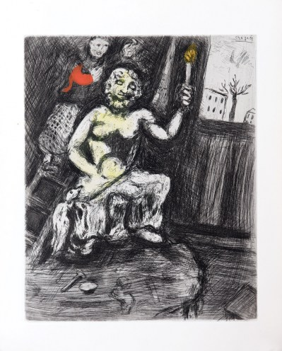 marc-chagall-the-sculptor-and-the-statue-of-jupiter-fontaine