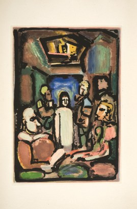 rouault-passion-christ-and-mammon
