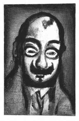 rouault-pere-ubu-the-scheming-politician