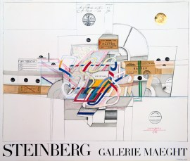 saul-steinberg-ticket-expo-galerie-maeght-