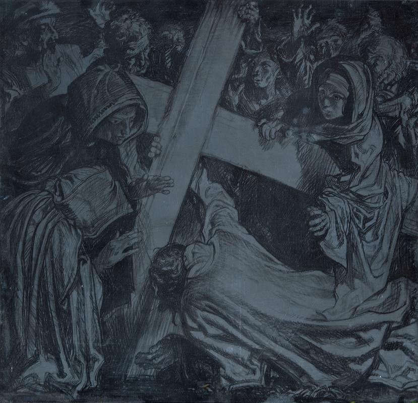 Jesus Falls for the Third Time frank-brangwyn-Jesus-Falls-for-the-Third-Time-plate.jpg